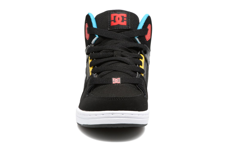 Sneaker DC Shoes REBOUND B schwarz schuhe getragen