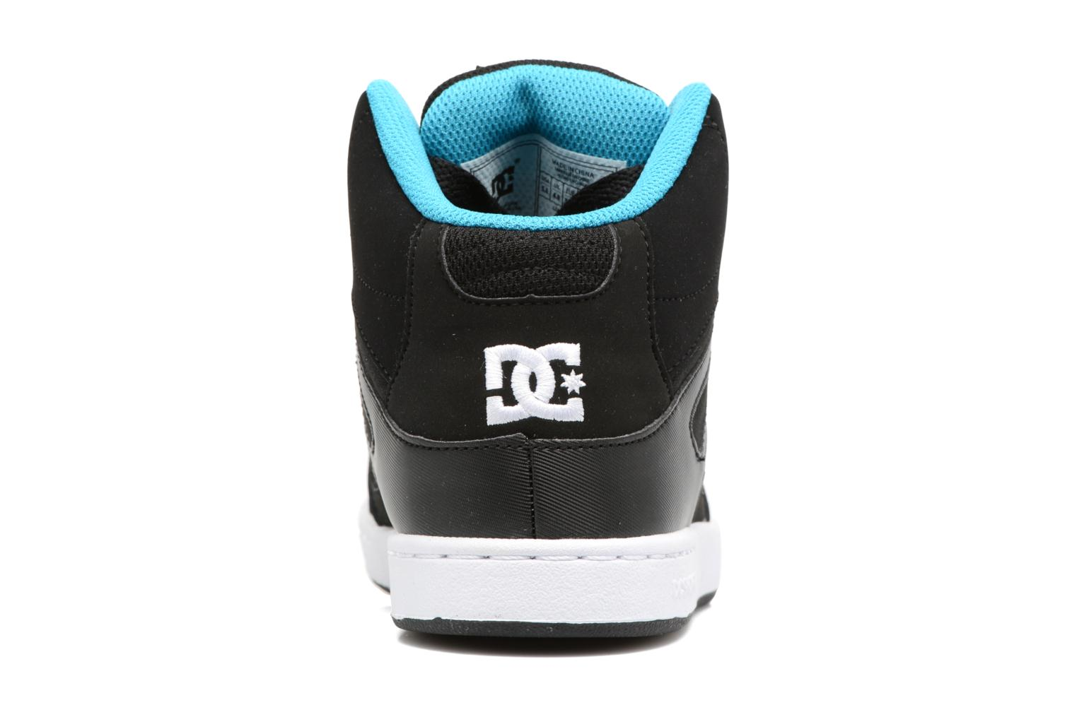 Trainers DC Shoes REBOUND B Black view from the right