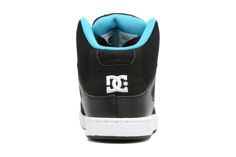 Deportivas DC Shoes REBOUND B Negro vista lateral derecha