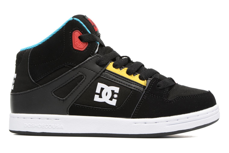 Sneaker DC Shoes REBOUND B schwarz ansicht von hinten