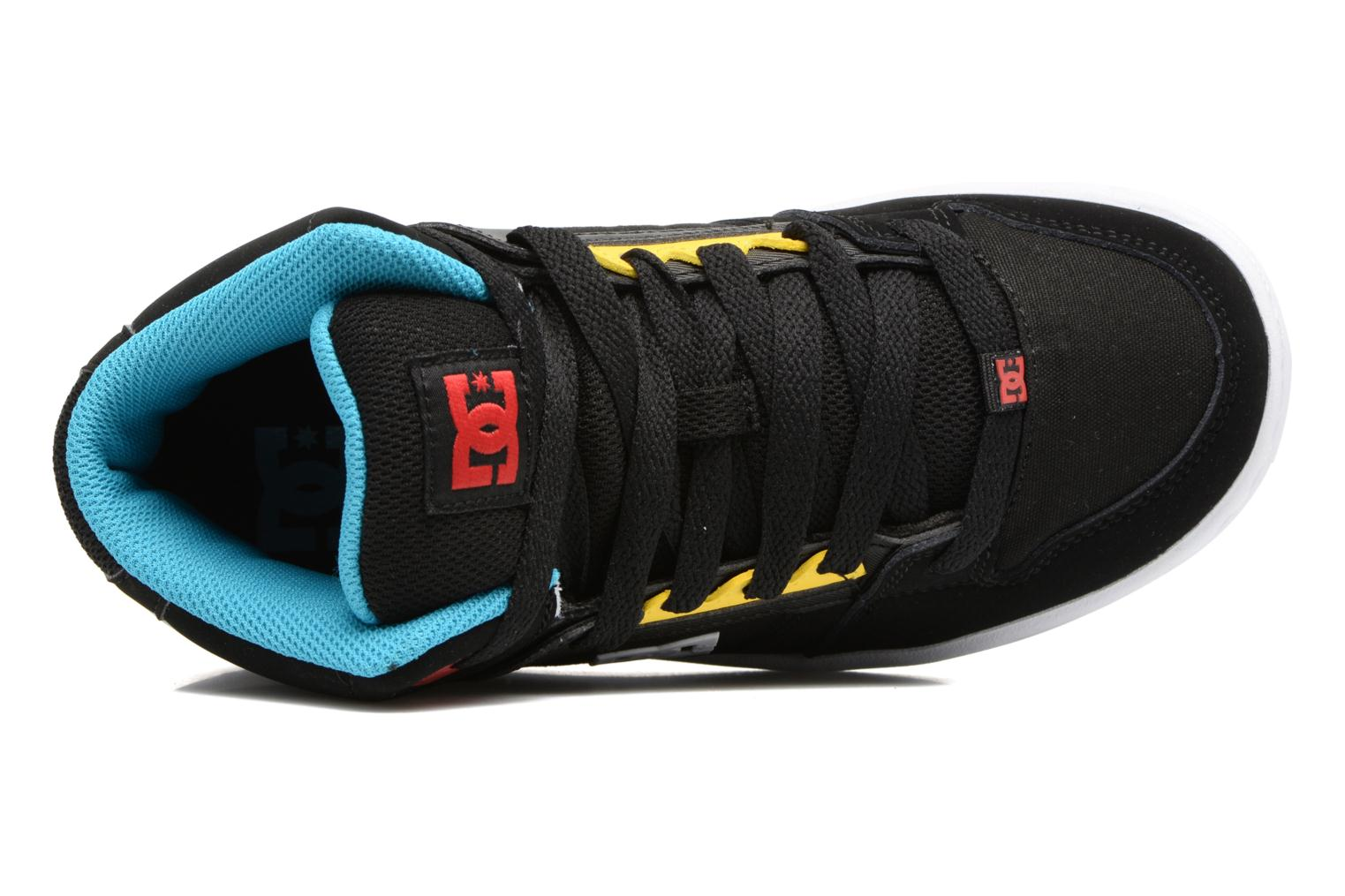 Trainers DC Shoes REBOUND B Black view from the left