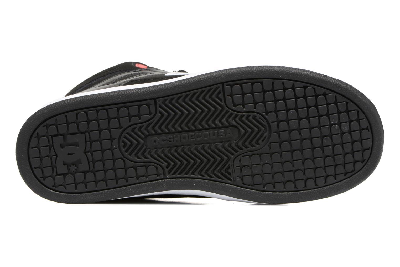 Sneaker DC Shoes REBOUND B schwarz ansicht von oben