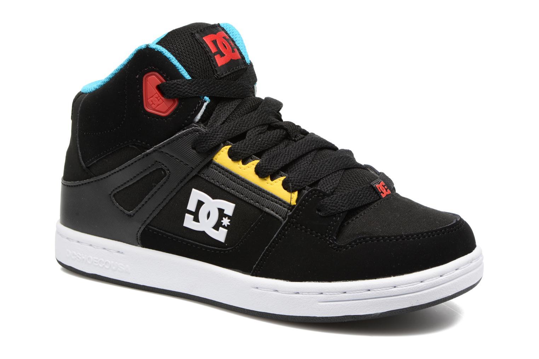 Deportivas DC Shoes REBOUND B Negro vista de detalle / par