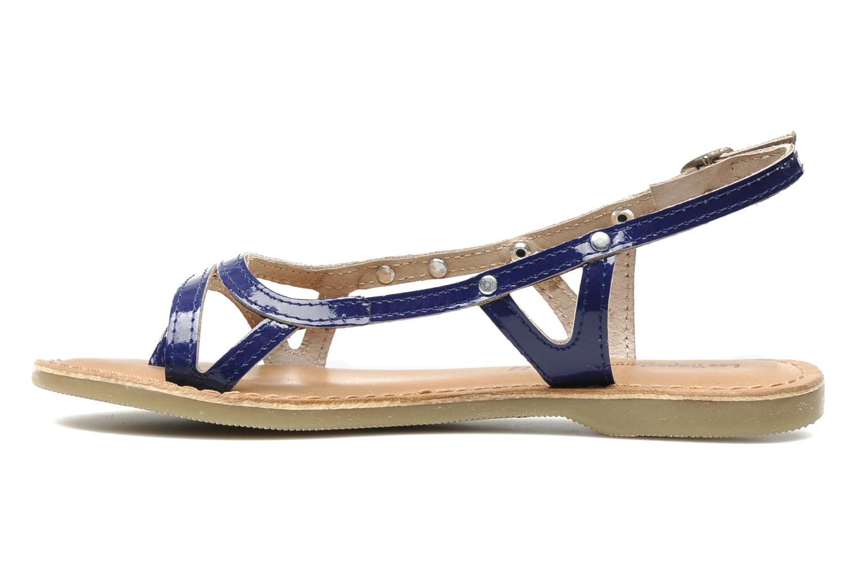 Sandals Les Tropéziennes par M Belarbi ISATIS E Blue front view