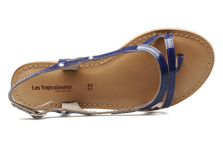 Sandalen Les Tropéziennes par M Belarbi ISATIS E blau ansicht von links