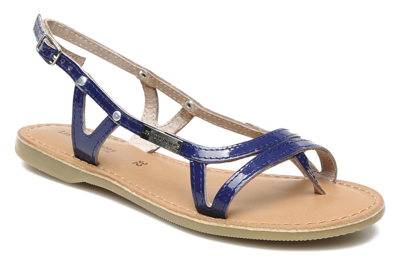 Sandals Les Tropéziennes par M Belarbi ISATIS E Blue detailed view/ Pair view