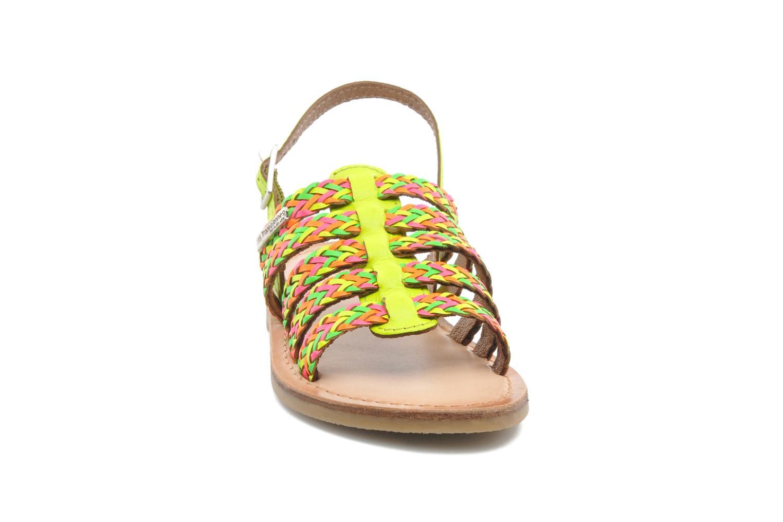 Sandali e scarpe aperte Les Tropéziennes par M Belarbi LILOU Multicolore modello indossato