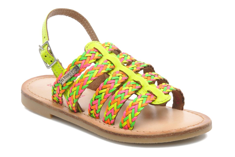 Sandals Les Tropéziennes par M Belarbi LILOU Multicolor detailed view/ Pair view