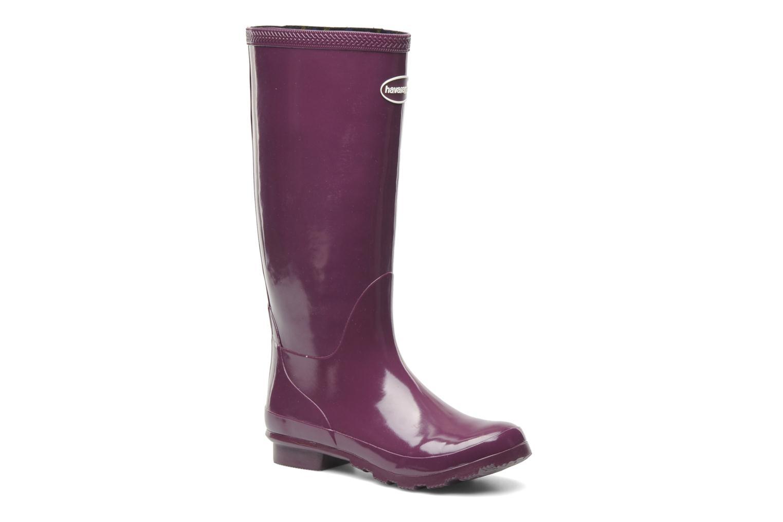 Helios Rain Boots Aubergine