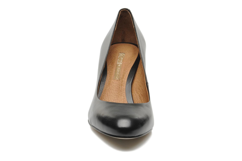 High heels Buffalo Bulon Black model view