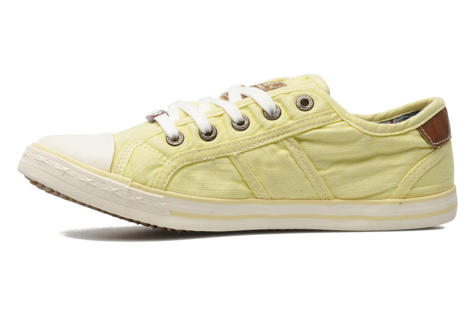 Trainers Mustang shoes Pitaya Yellow front view