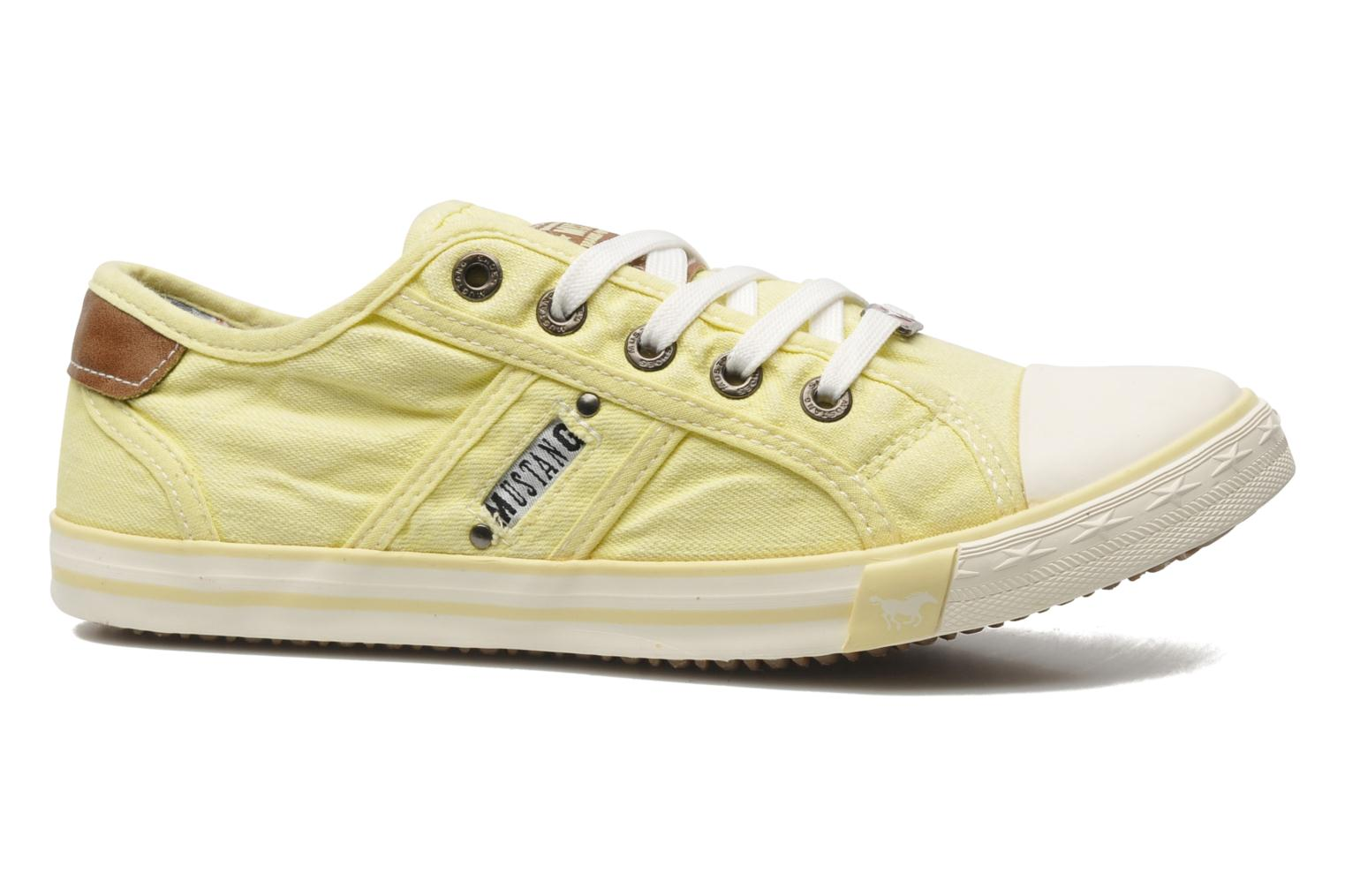 Trainers Mustang shoes Pitaya Yellow back view