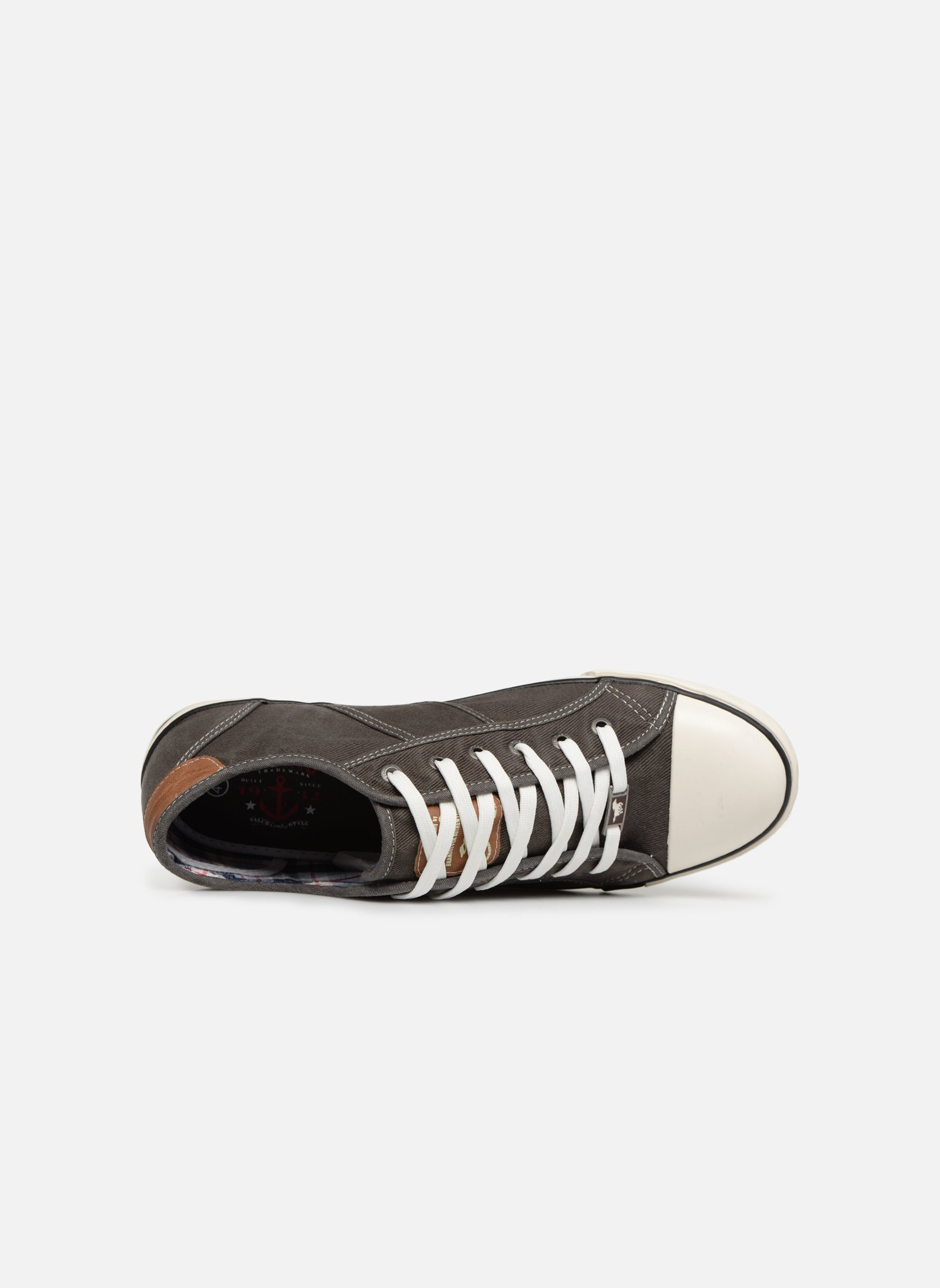 Baskets Mustang shoes Tista Gris vue gauche