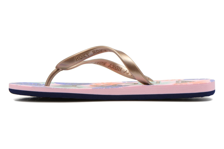 Slippers Roxy Tahiti V Goud en brons voorkant
