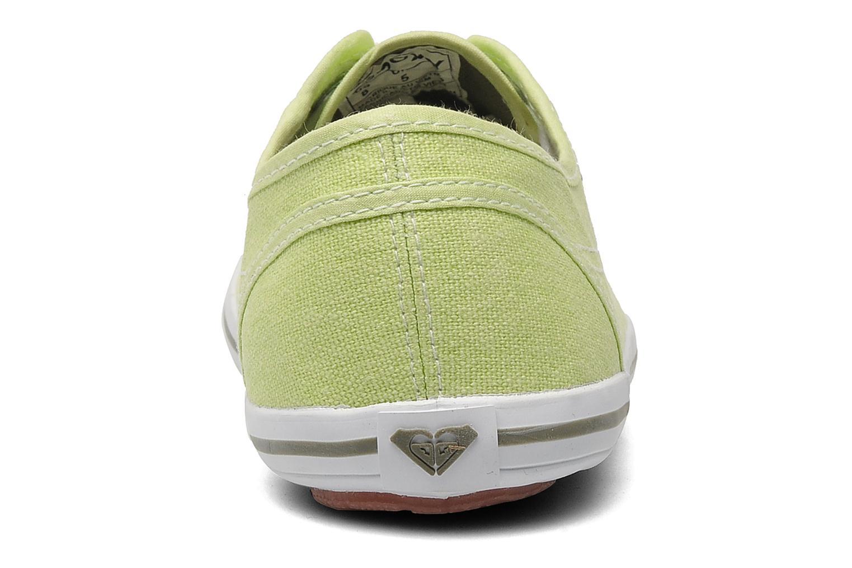 Sneakers Roxy Connect Dye Groen rechts