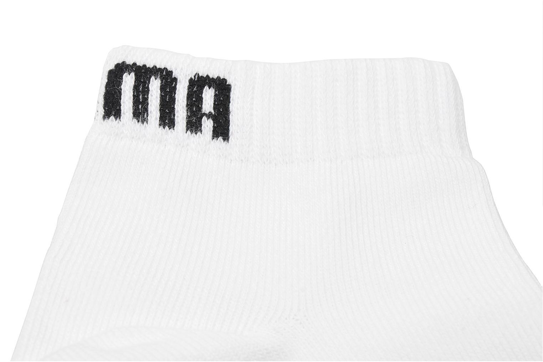 Sokken en panty's Puma Socks Quarter Kids Wit boven