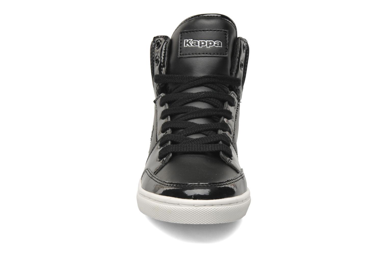 Baskets Kappa Ubos Noir vue portées chaussures