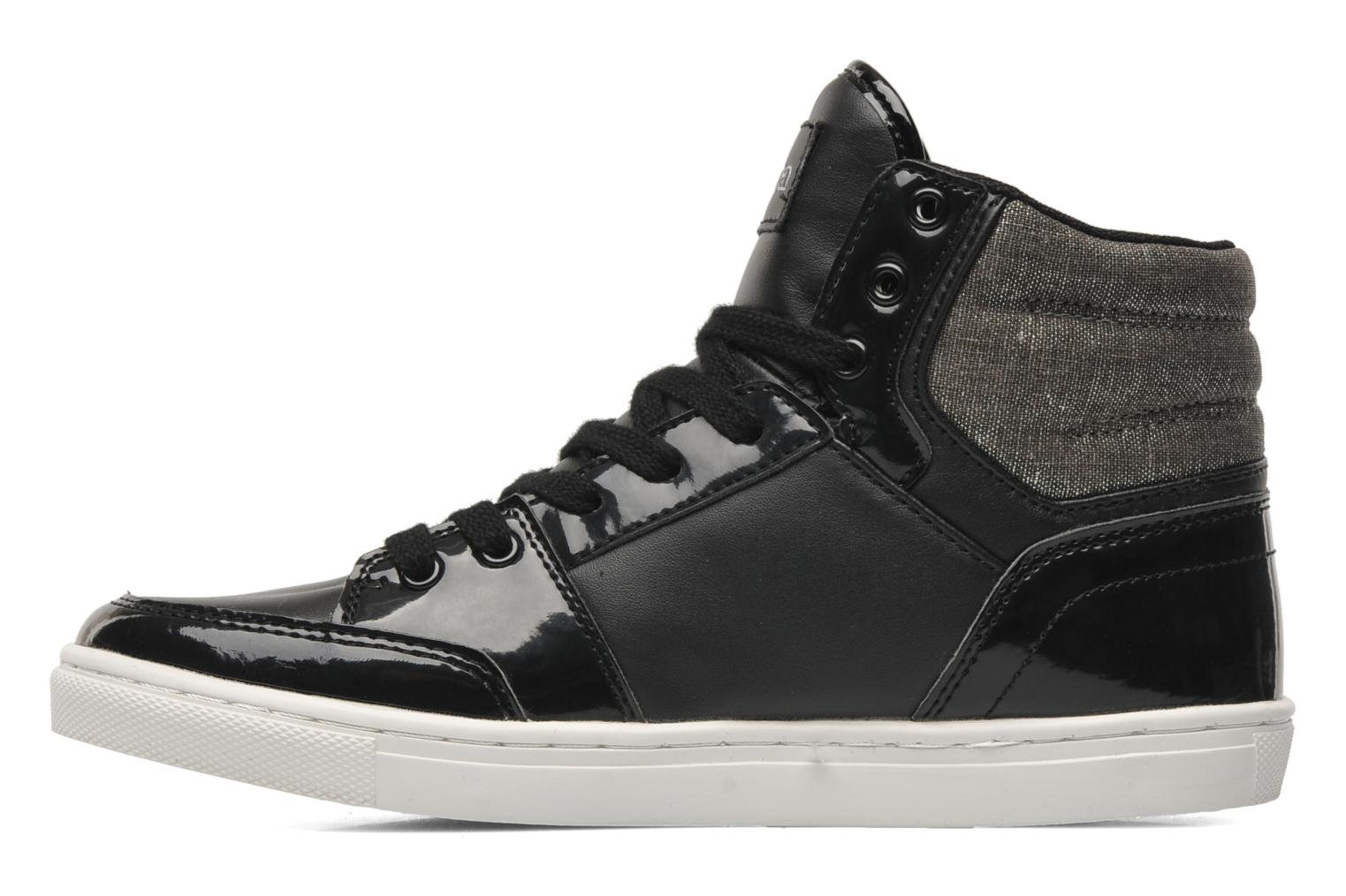Trainers Kappa Ubos Black front view