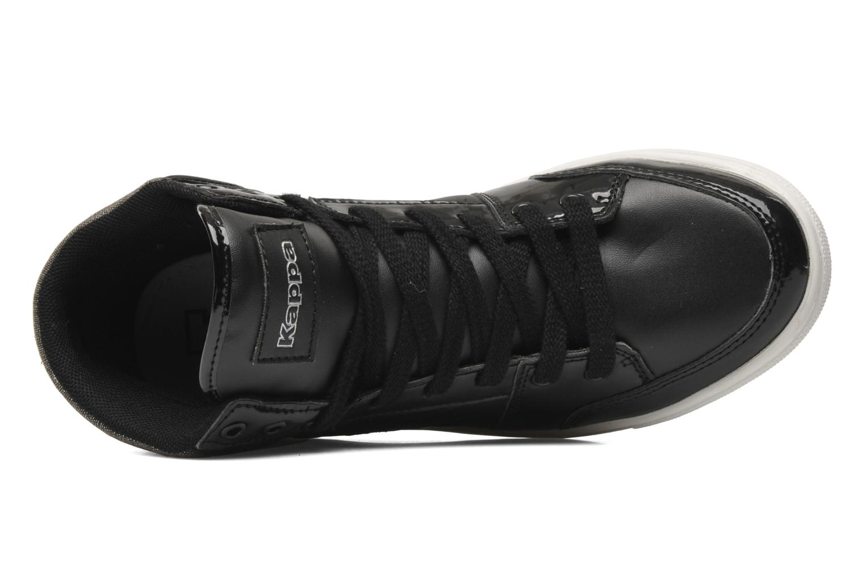 Sneakers Kappa Ubos Zwart links