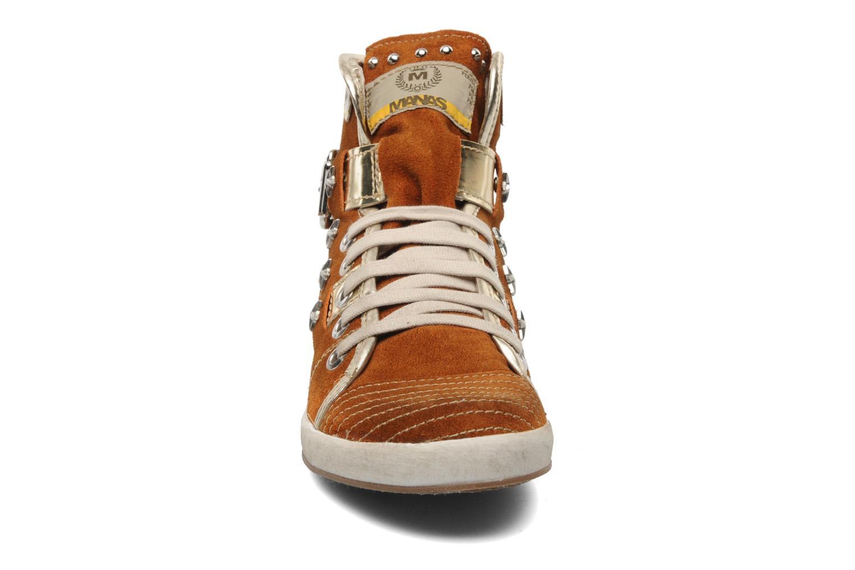 Baskets Manas Morikoi Marron vue portées chaussures