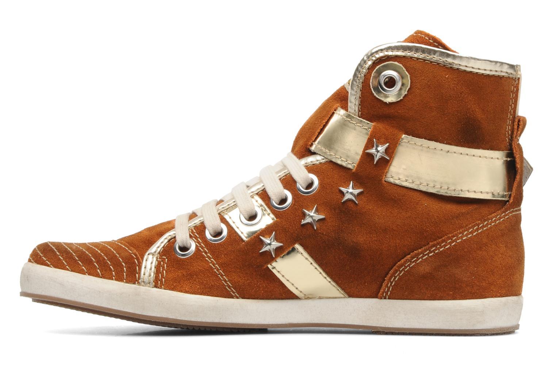 Sneaker Manas Morikoi braun ansicht von vorne