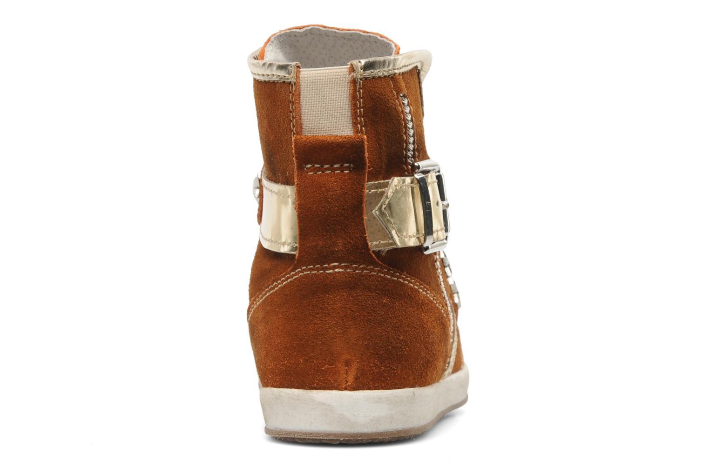 Sneakers Manas Morikoi Bruin rechts
