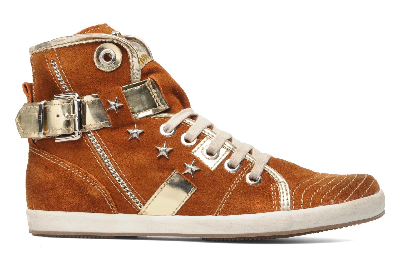 Sneaker Manas Morikoi braun ansicht von hinten