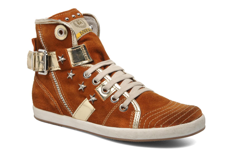 Sneakers Manas Morikoi Bruin detail