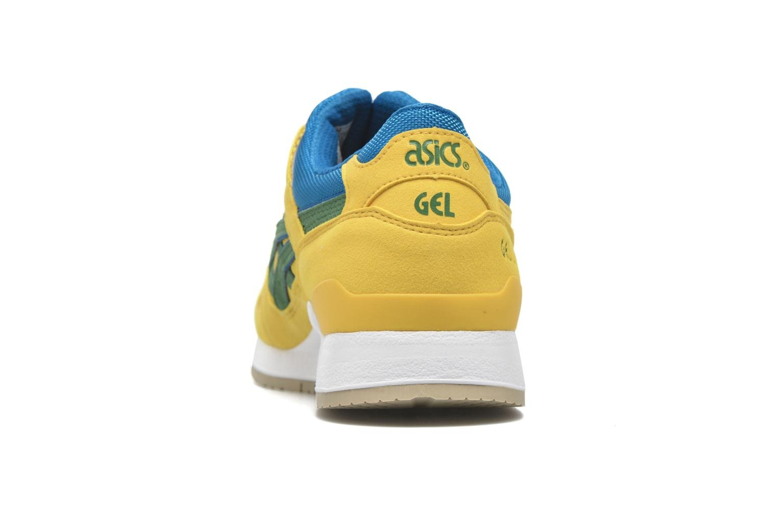 Trainers Asics Gel-lyte III Yellow view from the right