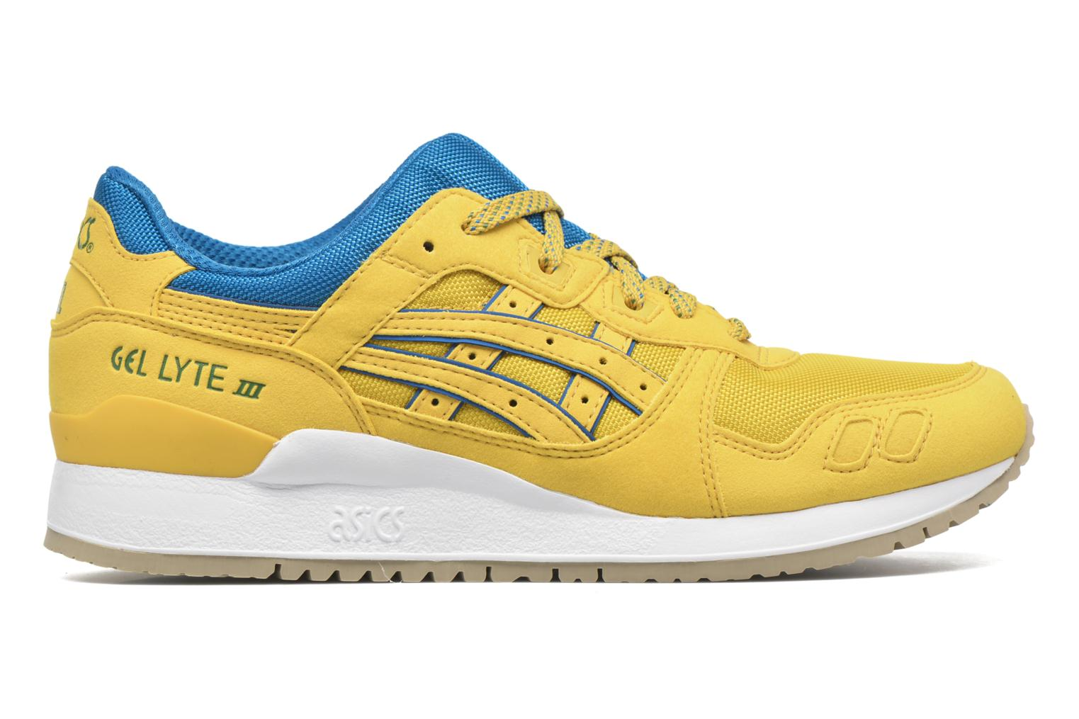 Trainers Asics Gel-lyte III Yellow back view