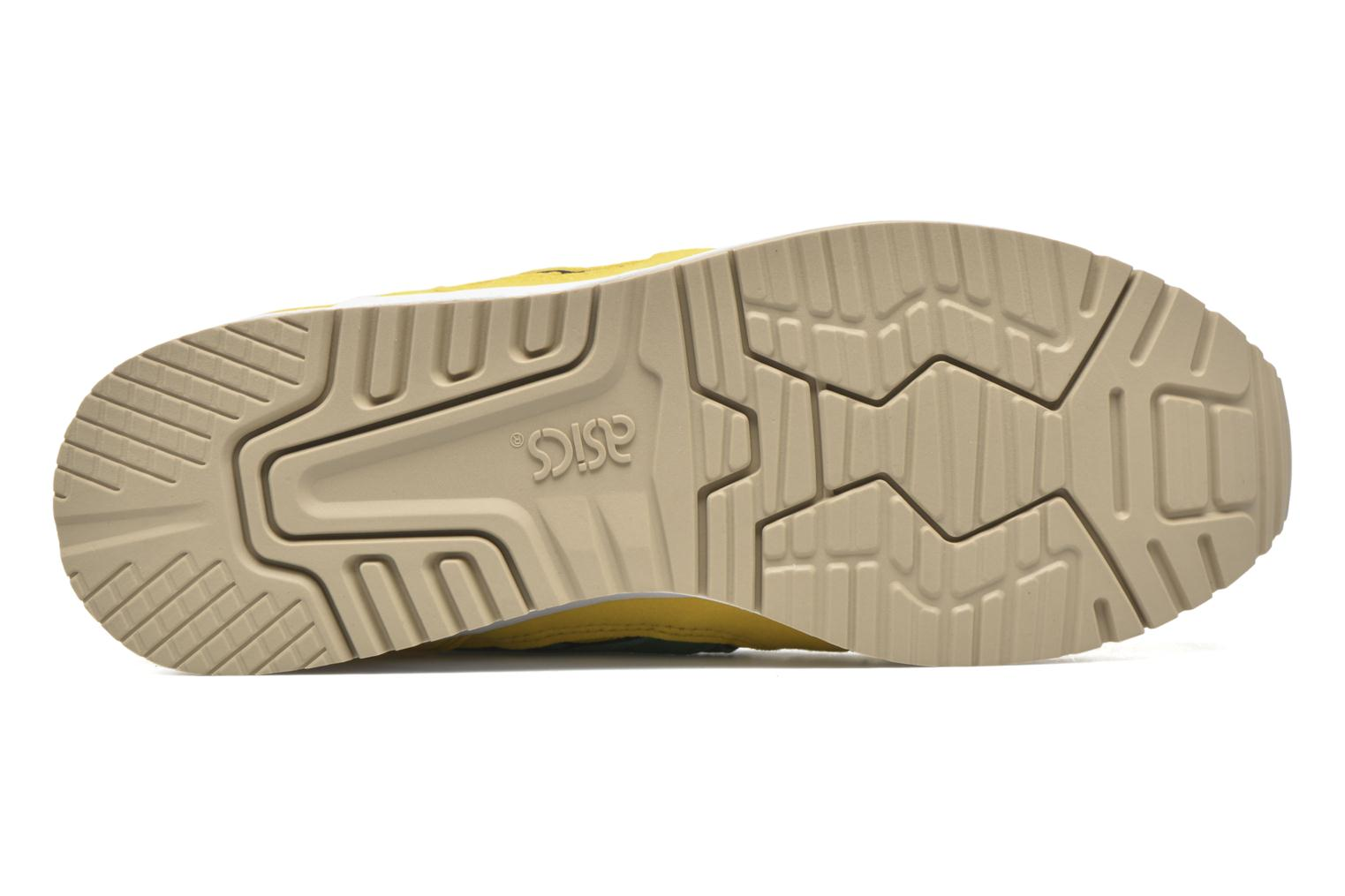 Trainers Asics Gel-lyte III Yellow view from above