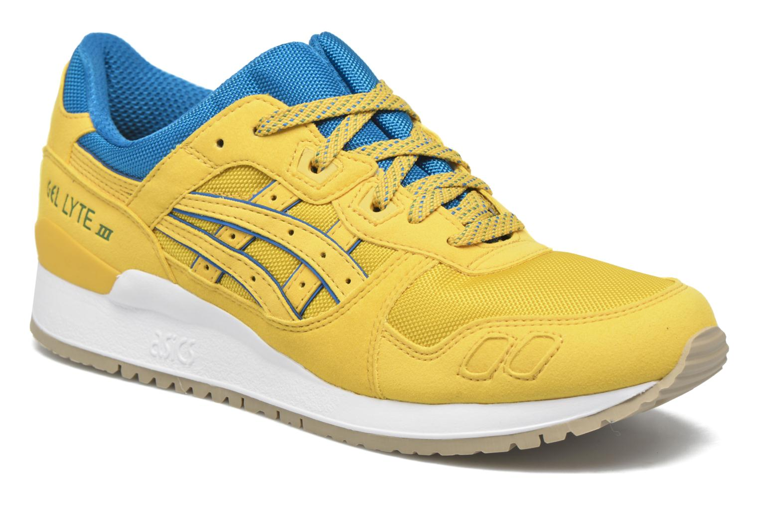 Trainers Asics Gel-lyte III Yellow detailed view/ Pair view