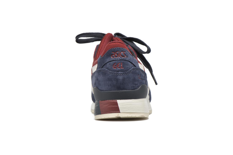 Sneaker Asics Gel-lyte III blau ansicht von rechts