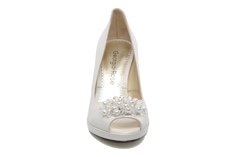 Escarpins Georgia Rose Chagrelots Blanc vue portées chaussures