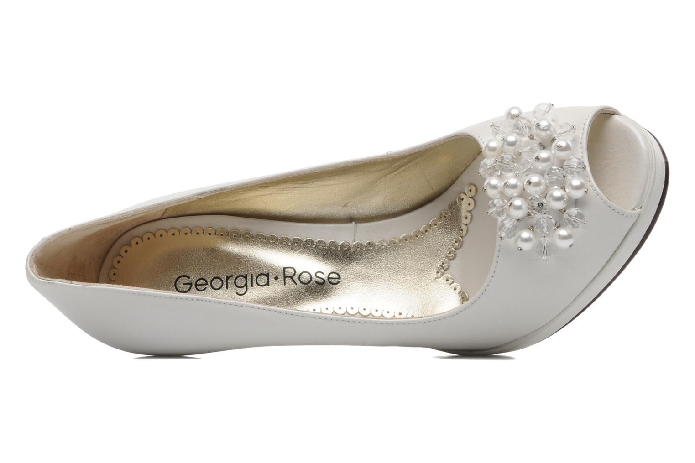Escarpins Georgia Rose Chagrelots Blanc vue gauche