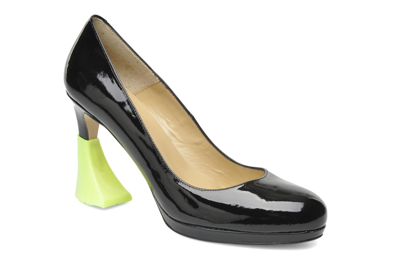 Schuhpflegeprodukte Heelbopps Absatzschoner gelb schuhe getragen