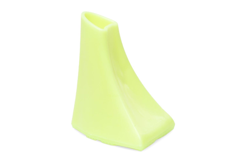 Schuhpflegeprodukte Heelbopps Absatzschoner gelb ansicht von hinten