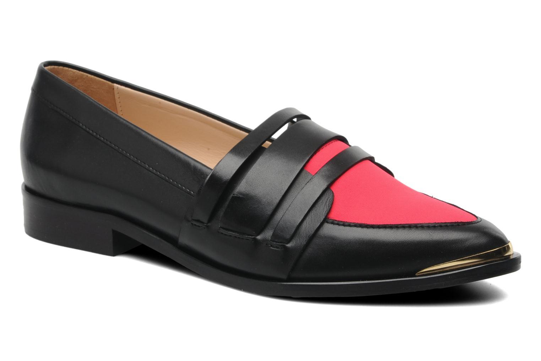 Loafers MySuelly David Sort detaljeret billede af skoene