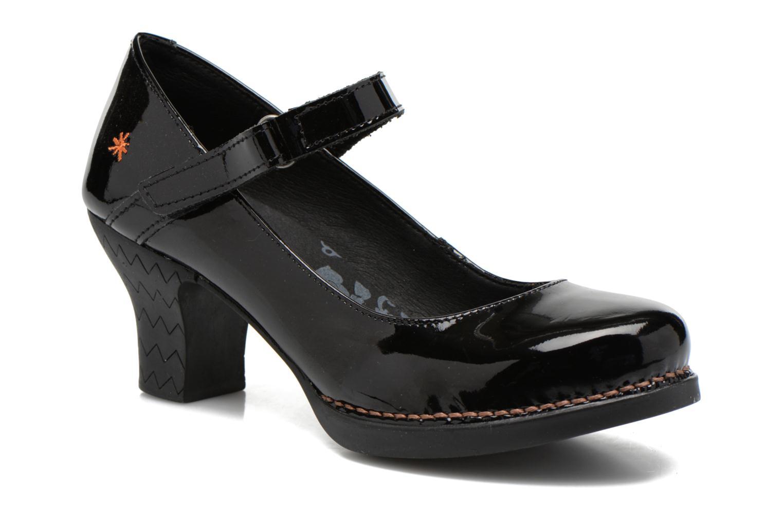Høje hæle Art Harlem 933 Sort detaljeret billede af skoene