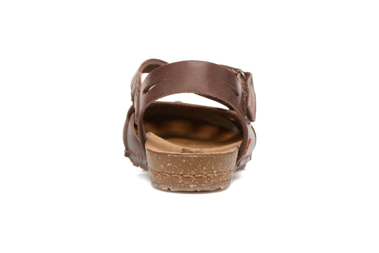 Sandali e scarpe aperte Art Creta 449 Marrone immagine destra
