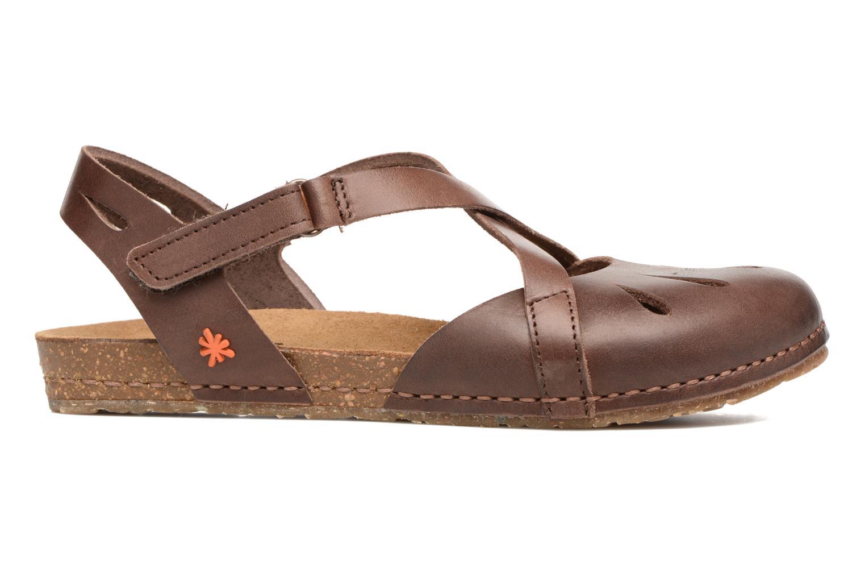 Sandals Art Creta 449 Brown back view