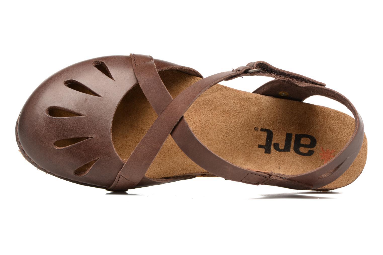 Sandali e scarpe aperte Art Creta 449 Marrone immagine sinistra