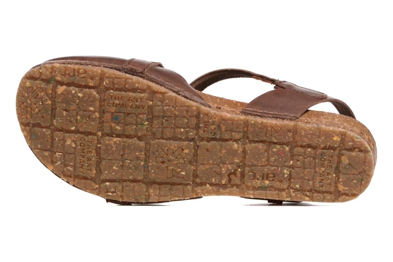 Sandali e scarpe aperte Art Creta 449 Marrone immagine dall'alto