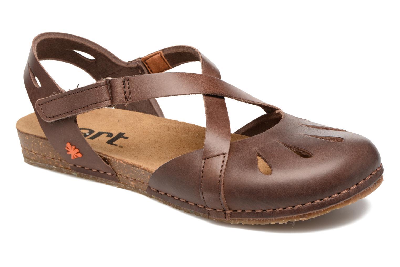 Sandals Art Creta 449 Brown detailed view/ Pair view