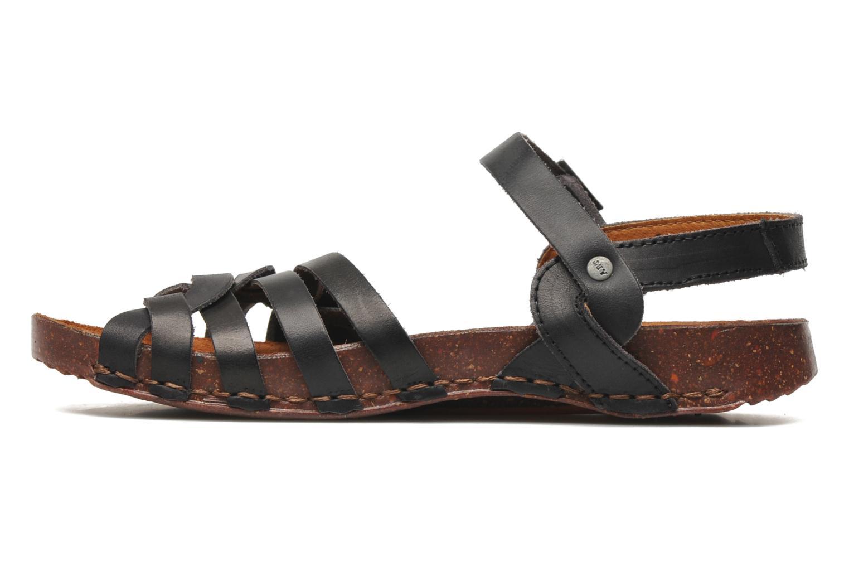 Sandales et nu-pieds Art I Breathe 976 Noir vue face