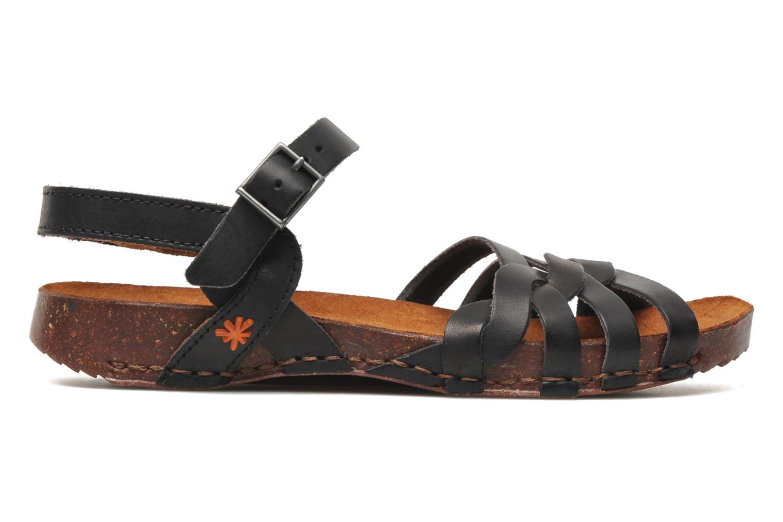 Sandales et nu-pieds Art I Breathe 976 Noir vue derrière
