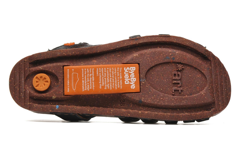 Sandales et nu-pieds Art I Breathe 976 Noir vue haut