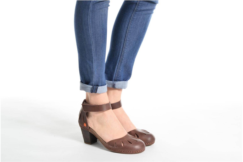 Sandalen Art I Meet 144 braun ansicht von unten / tasche getragen
