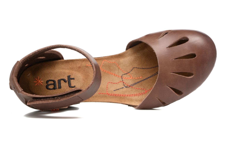 Sandalen Art I Meet 144 braun ansicht von links