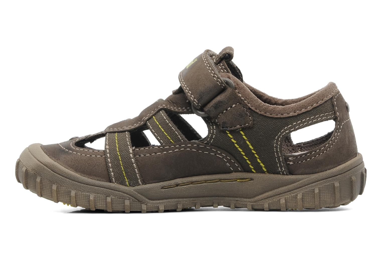 Sneakers Timberland EK Castleton Fisherman Bruin voorkant